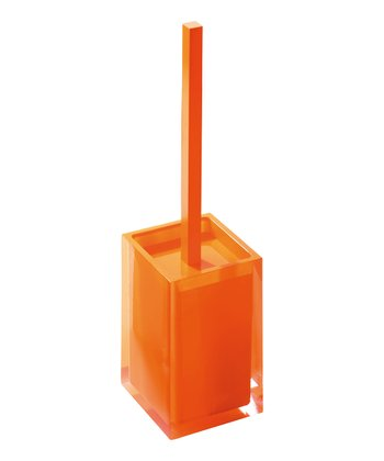 Orange Rainbow Toilet Brush