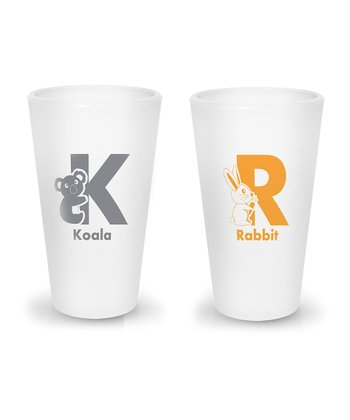 Koala & Rabbit 8-Oz. Half Pint Cup Set