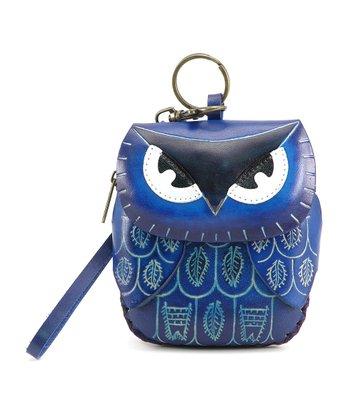 Blue Owl Coin Purse