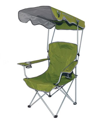 Green Canopy Foldable Chair