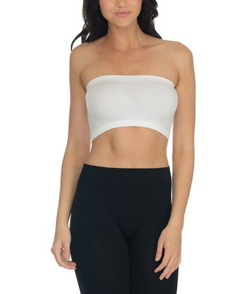 White Classic Wireless Bandeau