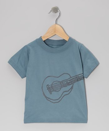 Blue Guitar Organic Tee & Toddler