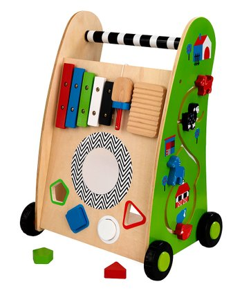 Push-Along Play Cart