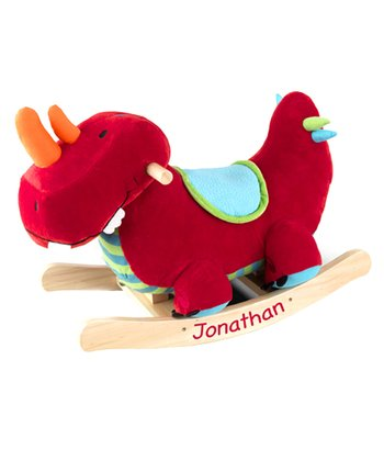 Dynamite Dinosaur Rocker - Personalization Available