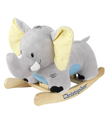 Enchanting Elephant Rocker - Personalization Available