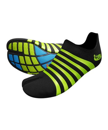 Black & Lime Oxygen 2 Ninja Minimalist Running Shoe - Women