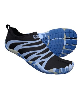 Charcoal & Denim Terra Ninja Minimalist Running Shoe - Women