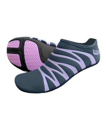Charcoal & Pink 360 Reflective Minimalist Running Shoe - Women