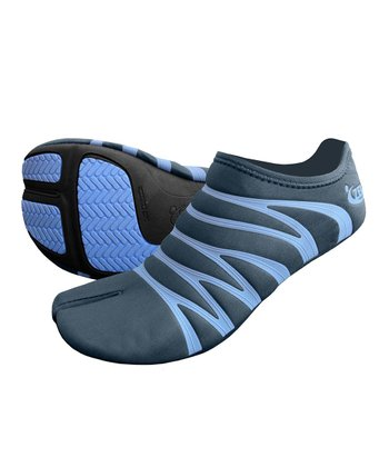 Charcoal & Dove Blue Ninja Minimalist Running Shoe - Women