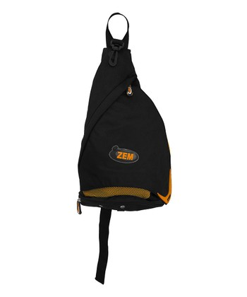 Black & Orange Sling Pack