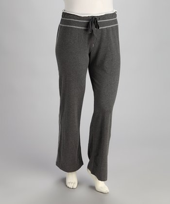 Gray Lounge Pants - Plus