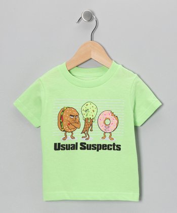 Key Lime 'Usual Suspects' Tee - Infant, Toddler & Kids
