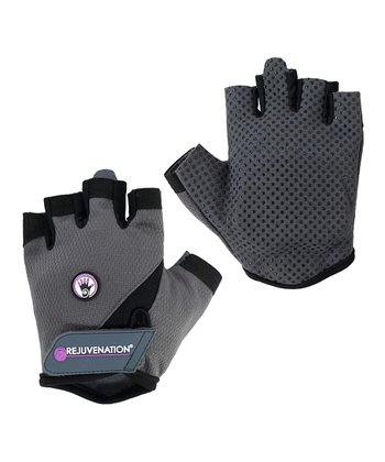 Gray Wrist Assist Gloves