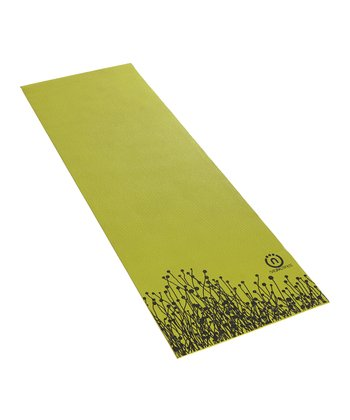 Green & Black Eco-Smart Yoga Mat.