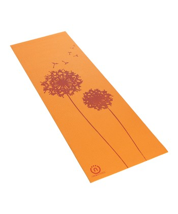 Orange & Red Eco-Smart Yoga Mat