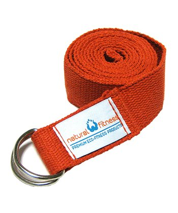 Flame Hemp Yoga Strap