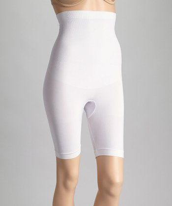 White Shaper Shorts - Women
