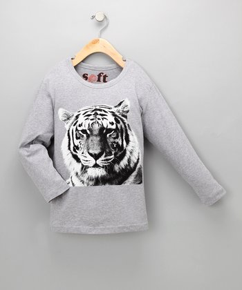 Tiger Soft Long-Sleeve Tee - Toddler & Boys