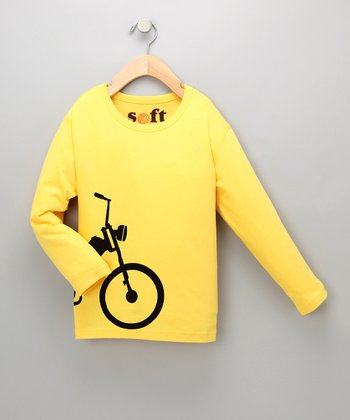 Moped Soft Long-Sleeve Tee - Toddler & Boys
