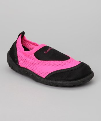 Pink & Black Water Shoe