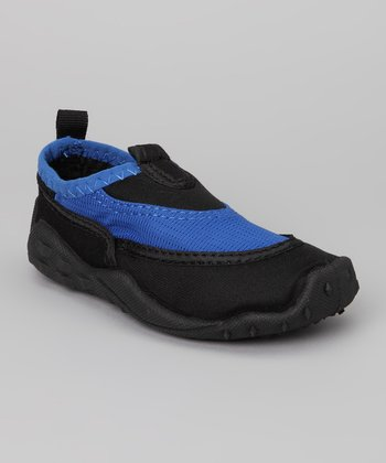 Blue & Black Water Shoe