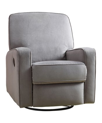 Zen Gray Sutton Gliding Recliner
