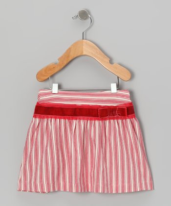 Pink Stripe Skirt - Infant & Girls