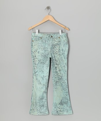 Light Blue Pants - Girls