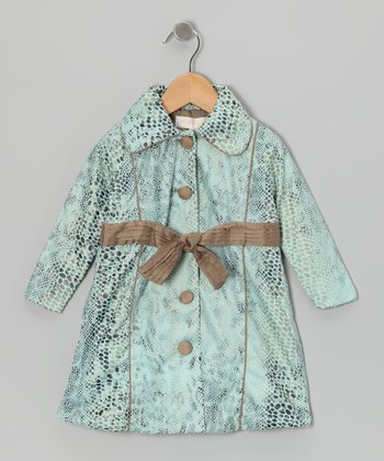 Light Blue Princess Coat - Toddler & Girls