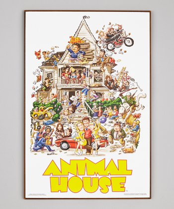 Animal House Wood Sign