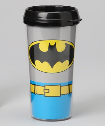 Batman Uniform Travel Mug