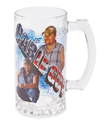 Larry the Cable Guy 25-Oz. Glass Stein