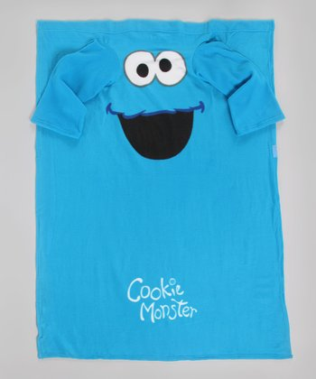 Cookie Monster Sleeve Blanket