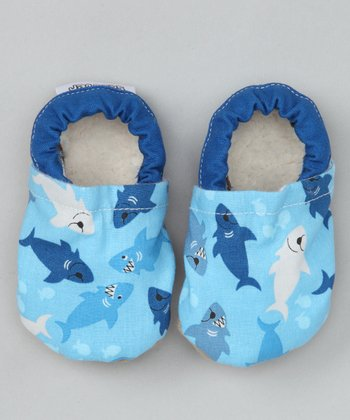 Blue Shark Booties