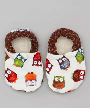 Brown Owl Booties