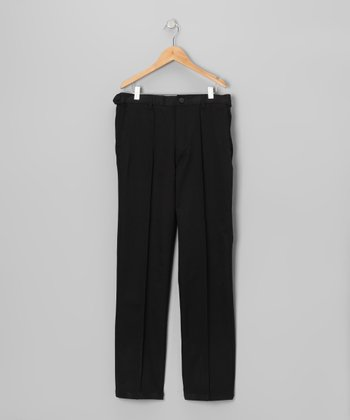 Jet Black Tech Pants - Boys