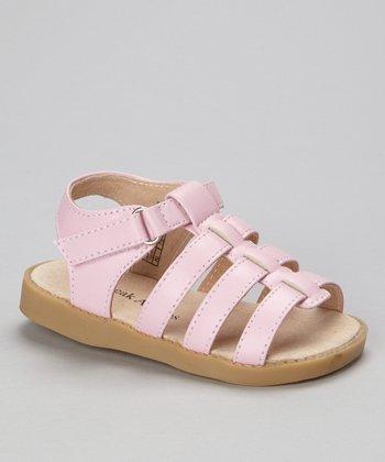 Sneak A' Roos Pink Strap Squeaker Sandal