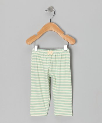 Sage Stripe Pants