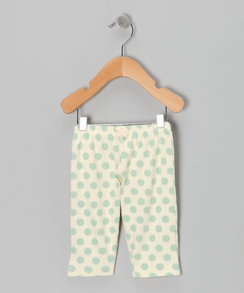 Sage Polka Dot Pants