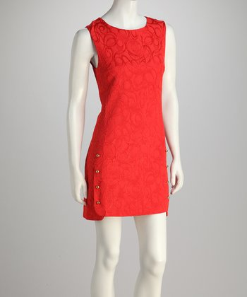 Poppy Swirl Sleeveless Tunic