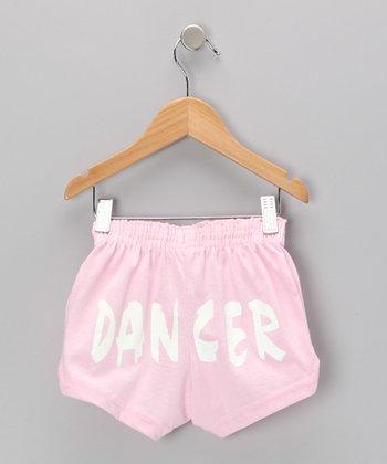 Pink 'Dancer' Shorts - Toddler, Girls & Women