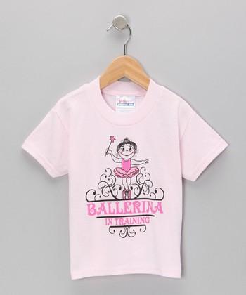 Pink 'Ballerina in Training' Tee - Toddler & Girls