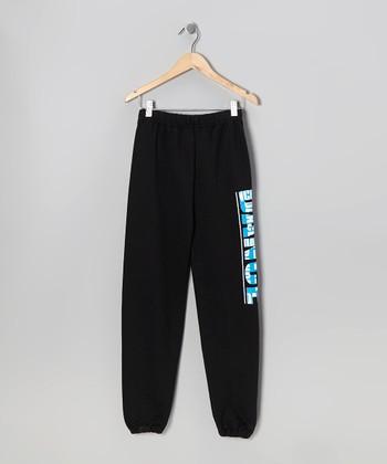 Black 'I Came To Dance' Sweatpants - Girls & Women