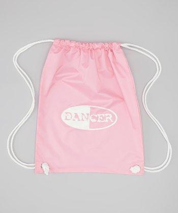 Pink 'Dancer' Drawstring Backpack