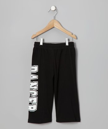 Black 'Dancer' Capri Pants - Girls & Women