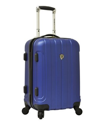 Blue Cambridge 20'' Wheeled Carry-On