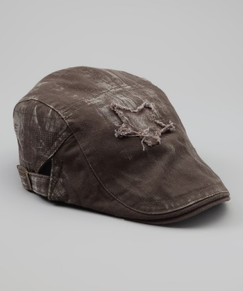 Brown Star Cap