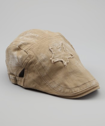 Tan Star Cap