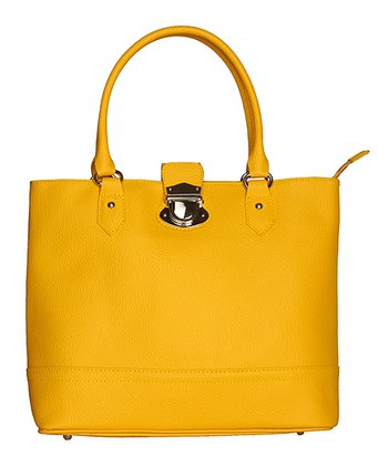 Yellow Imperia Tote
