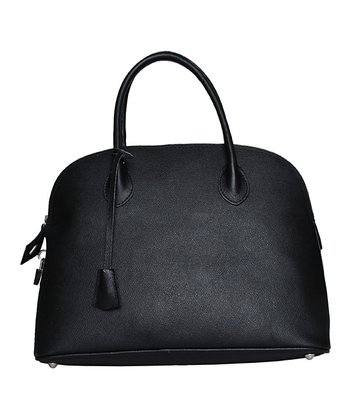 Black Siena Satchel